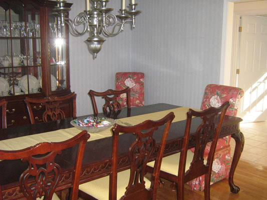 Upholstered Parsons Chair, Dining Room Chairs